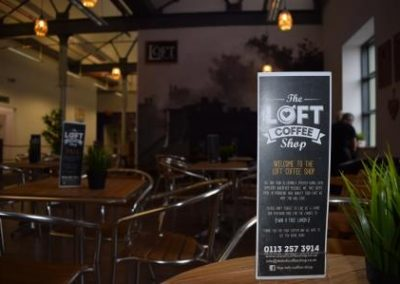 The Loft Coffee Shop Header