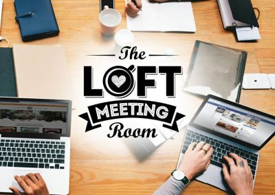 The loft meeting room